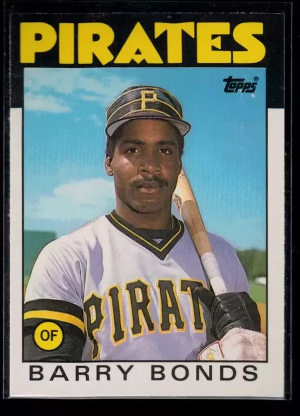 How much is a Topps Barry Bonds rookie card worth? - Quora