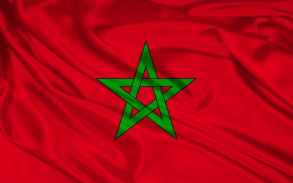 Afbeeldingsresultaat voor Morocco flag