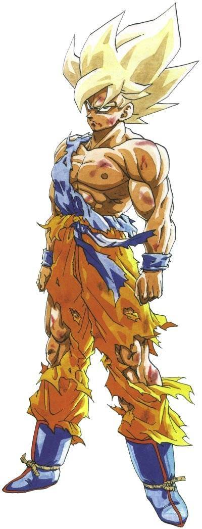 What are all of the super saiyan forms of goku quora - Super saiyan 6 goku pictures ...