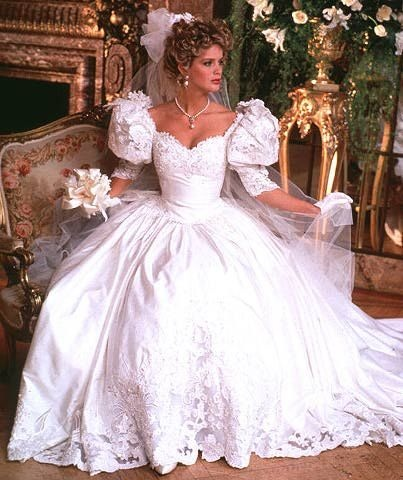 80s Wedding Dress.Why Was Diana S Wedding Gown So Awful Catherine S Gown Was