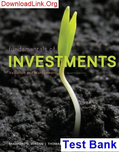 Fundamentals of corporate finance 9th edition brealey solutions manual.