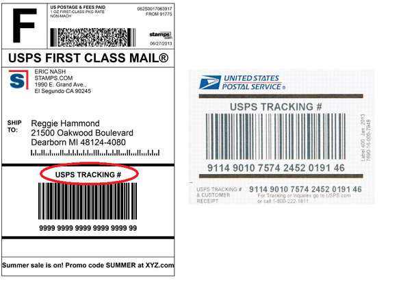 What do USPS tracking numbers look like? - Quora