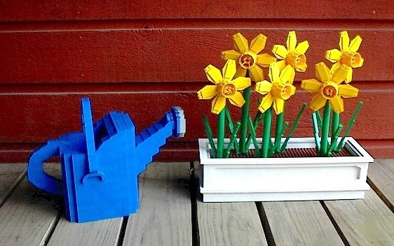 How To Build Lego Flowers Quora