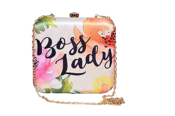 Boss Lady Clutch If Your Best Friend Is Bossing Everyone Around Then Isnt This Perfect For Her