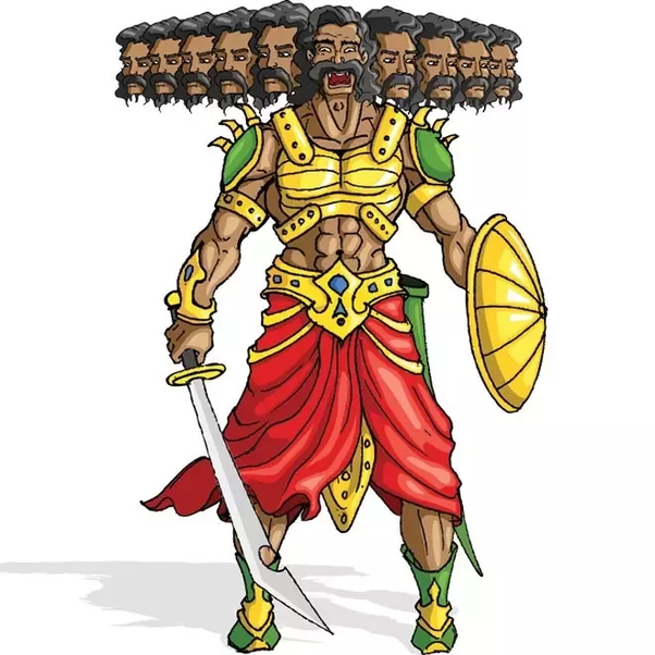 What was the real character of Ravana? - Quora