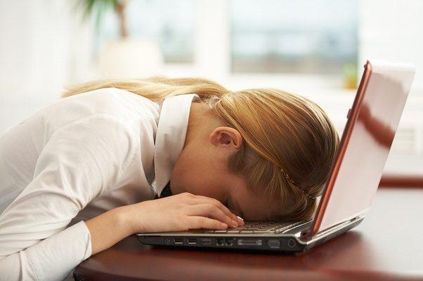 نتيجة بحث الصور عن tired at work
