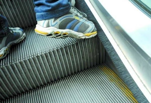 Why Do Escalators Have Brushes On Their Sides Quora