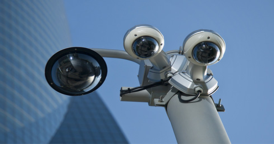 how to tell if a cctv camera is on
