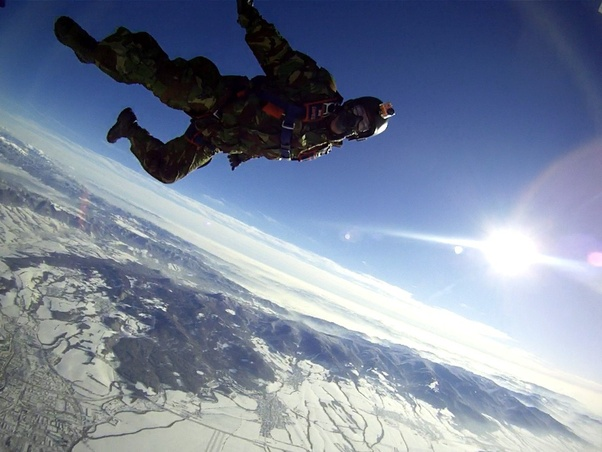 How much does it cost for a parachute jump? - Quora