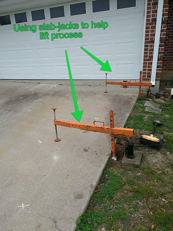 Fix A Cement Driveway That Has Sunk