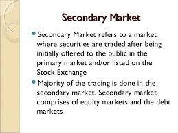 Primary secondary shares ipo