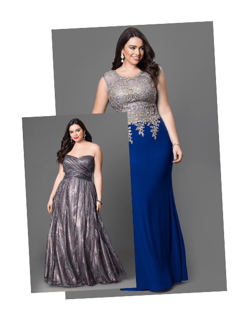 What stores carry plus size prom dresses? - Quora