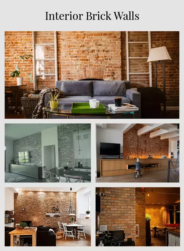 Interior Brick Veneers Can Stand The Test Of Time Both In The Bedroom And  On A Brick Kitchen Backsplash.u201d