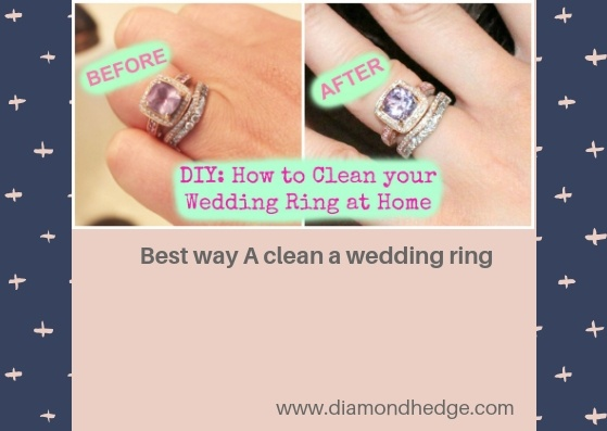 What is the best way to clean a wedding ring? - Quora