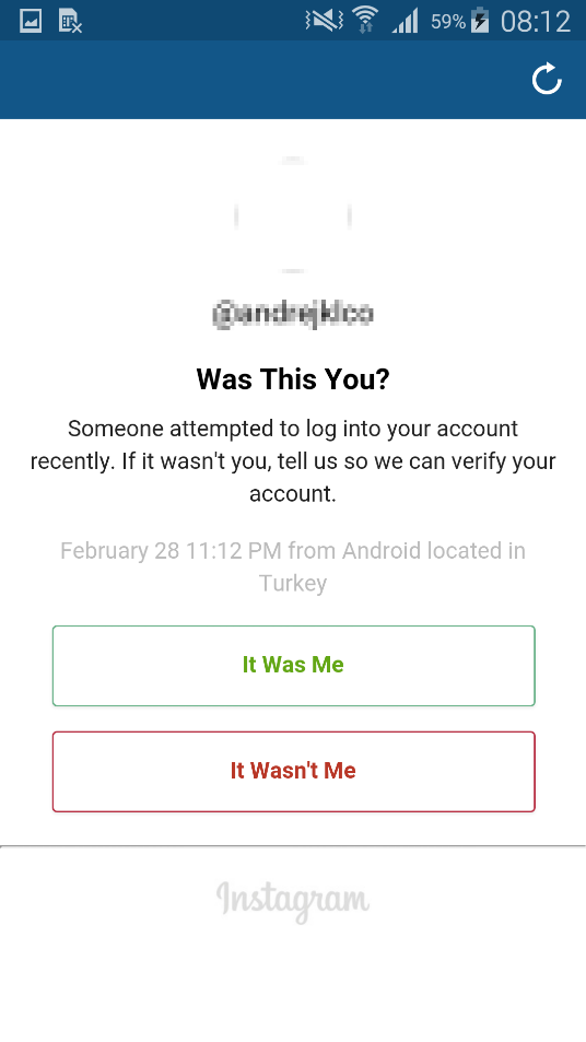 Will someone be notified if someone tries to log into their