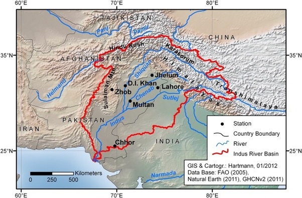 Where is the origin of the Indus River? - Quora