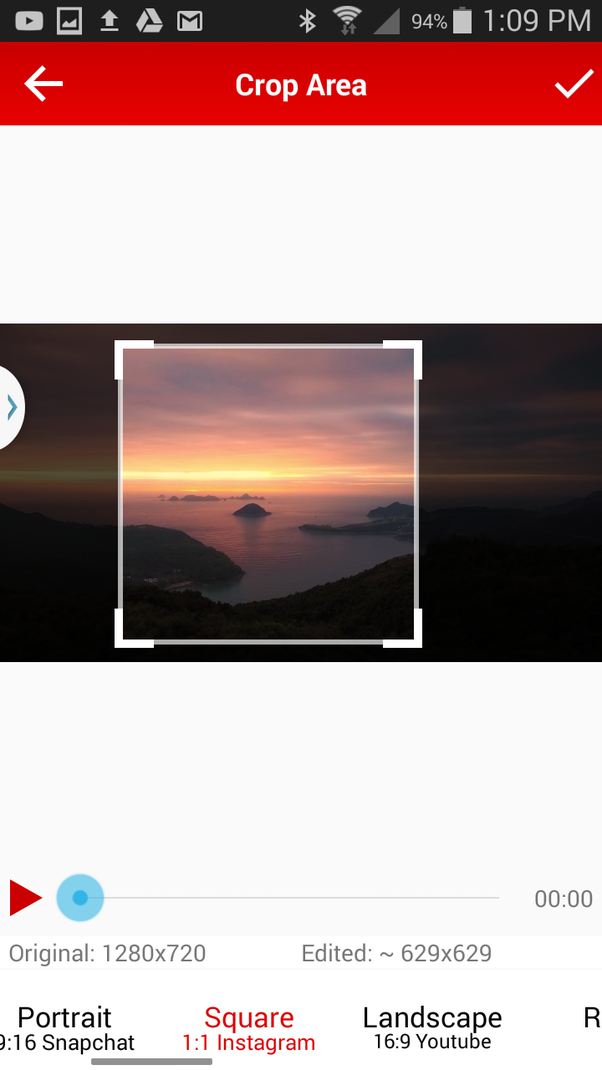 Why does my uploaded Instagram video black out or add green lines at