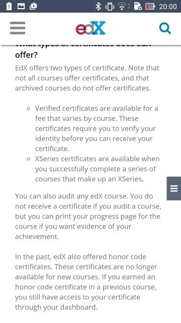 Does edX provides Free certificates after completion of course? - Quora
