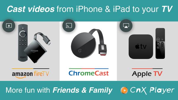 amazon prime streaming chromecast iphone