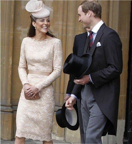 How much did Kate Middleton's wedding dress and evening ...