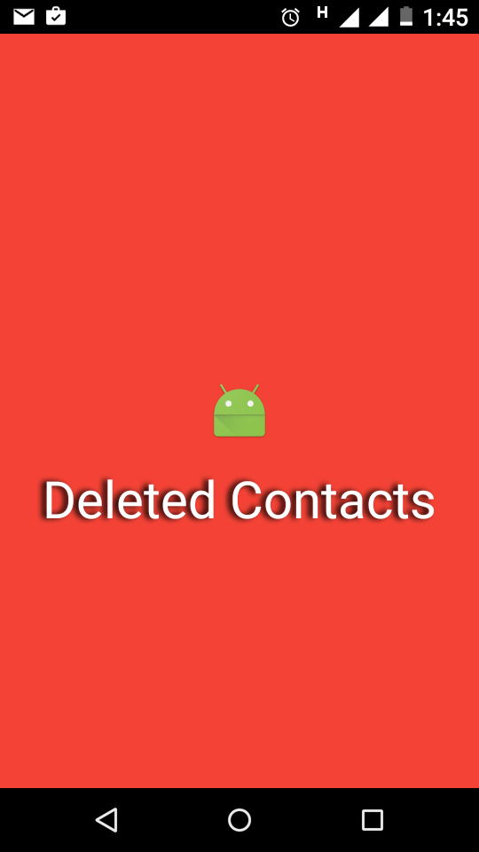 how to get contacts from lost android phone