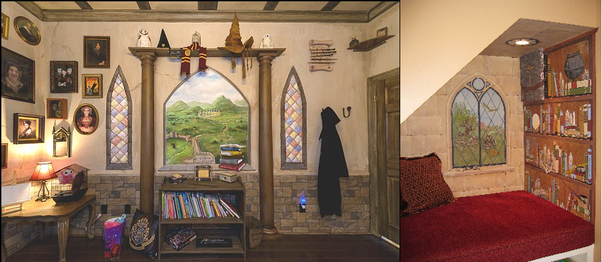 What Harry Potter themed mural would you paint in your babys