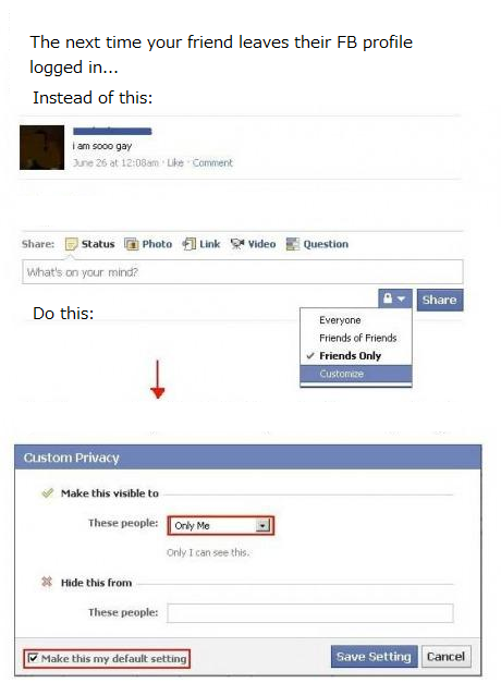 Funny Things To Put On Your Facebook Profile