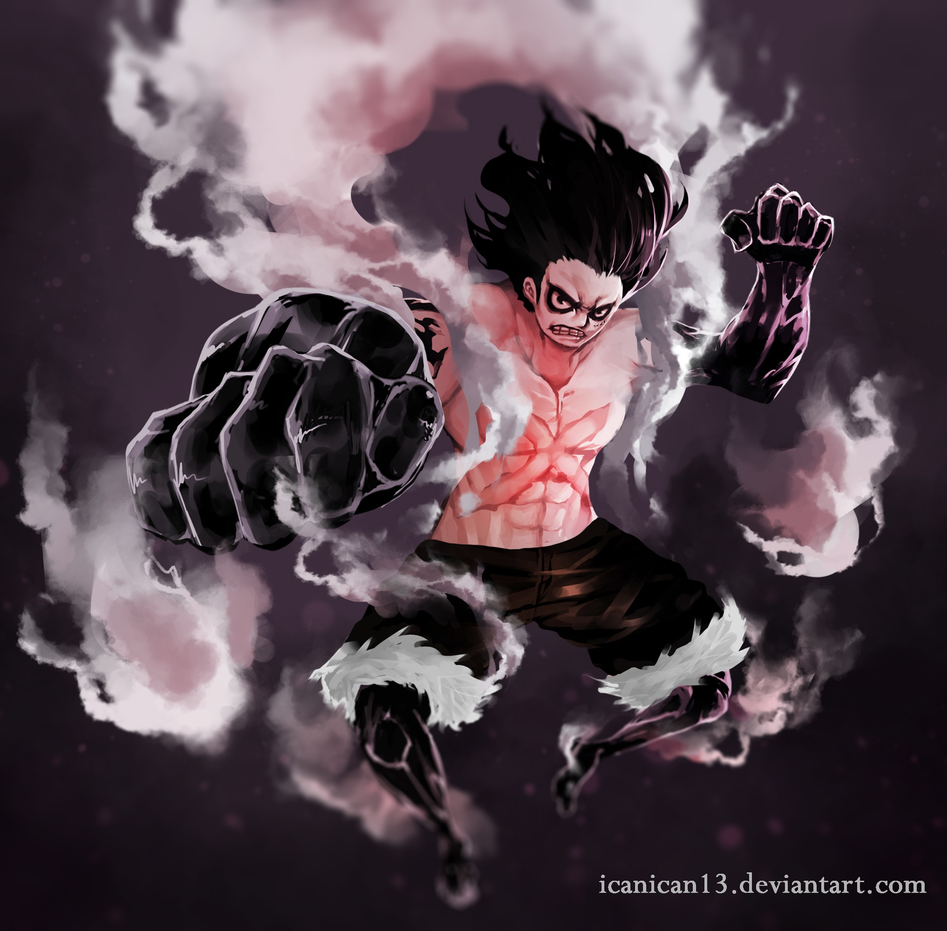 Why do people say Luffy beat Katakuri when he hit himself