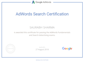 How to prepare for Google Adwords certification in a short amount time