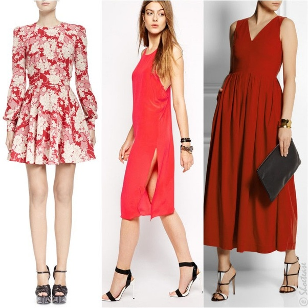 What Shoes Should You Wear With A Red Dress Quora