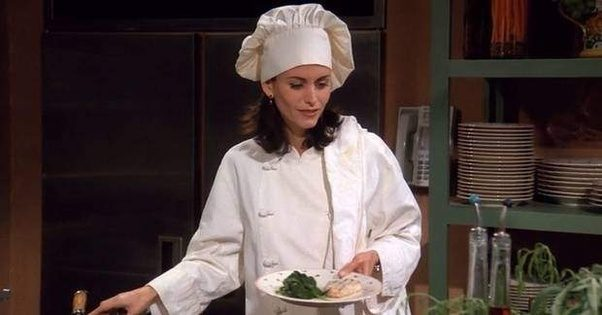 But Aside From The Hat Monica Is Actually A Treasure Trove Of Examples What Chef NOT And Therein We Find Difference Between Sous