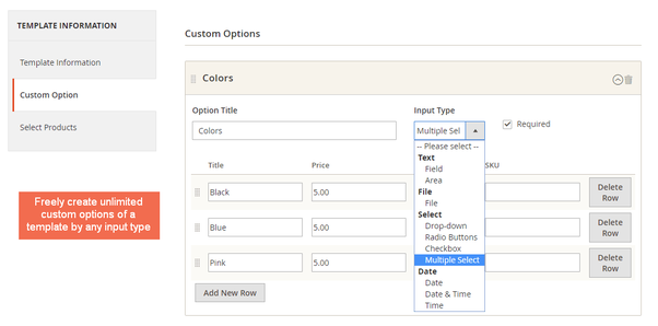 Can I upload many images for custom options in Magento 2? - Quora