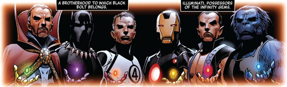 Image result for Marvel's illuminati gems