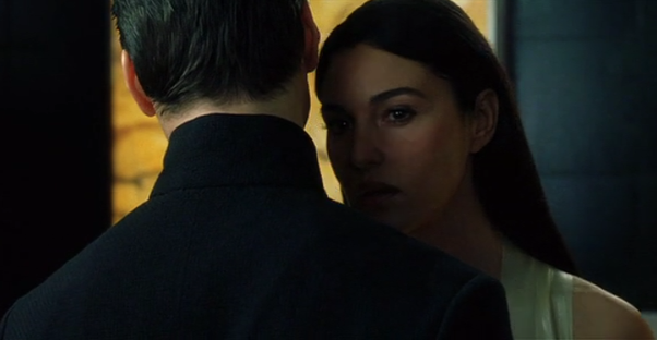 In The Matrix Reloaded, Why Does Persephone Want A Kiss