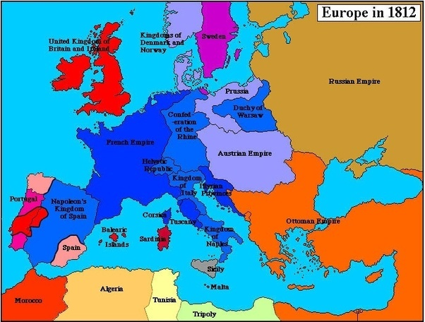 Europe 1848 map german states east german map german states europe map german states on east german map german states world map german states gumiabroncs Choice Image
