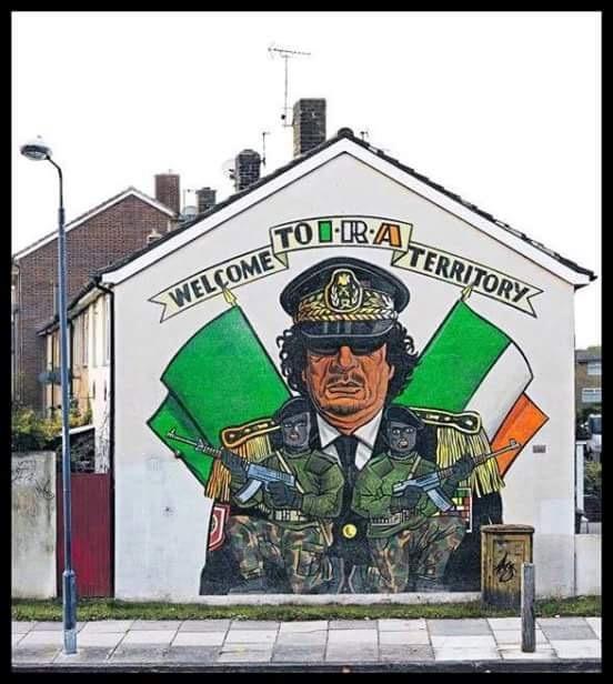 Resultado de imagem para ira gaddafi