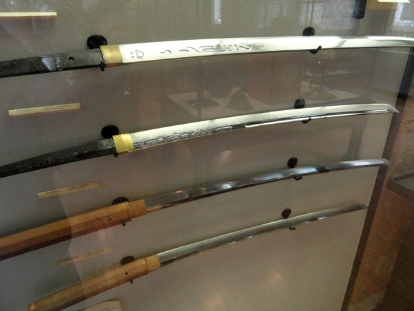 You pull a rare pre-18th-century Japanese WW2 Samurai sword