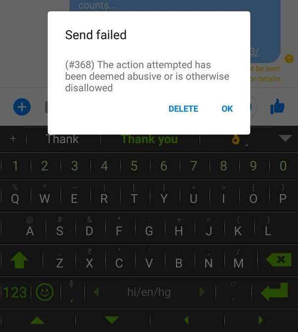 How to get rid of 368 error - Quora
