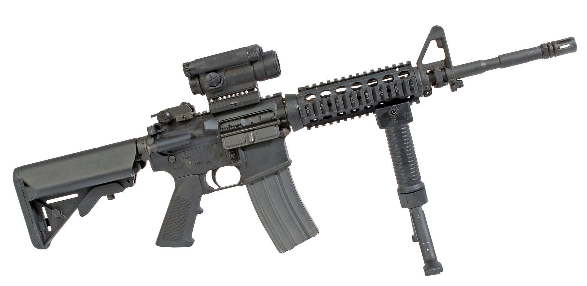 What gun does US military use? M16, M4, or AR-15? - Quora