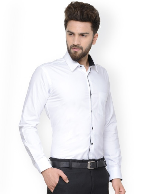 Which colour formal shirt looks good for black pant other ...