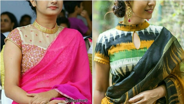 10c740f189b What designed saree blouse suits a person with a plump size  - Quora