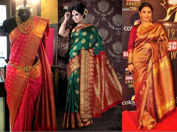 d39e2fbff0 Certain regional varieties of the saree like the Banarsi silk saree or the  Kanjivaram saree are favourite traditional Indian saree for women  frequently worn ...