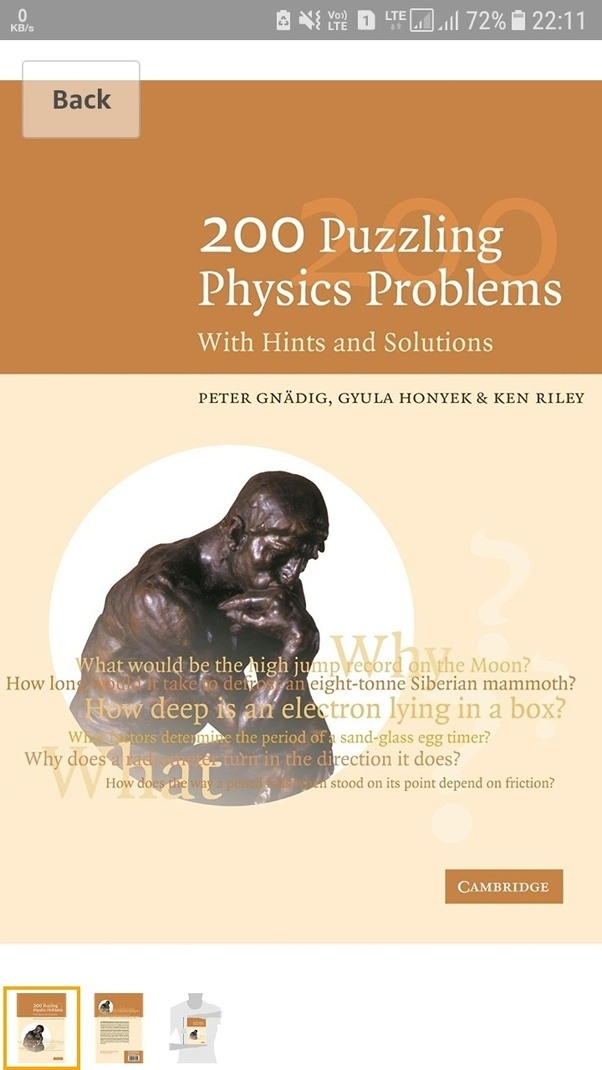 I want to study physics from zero level to graduate level without a if you done with your physics study try this book once u will realize how physics problems can be related to world and physics problems in realistic fandeluxe Image collections