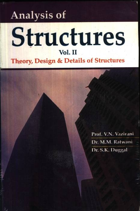 Which are the best books for Structural Analysis I & II in