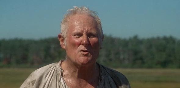 For those of you who don't know, Giles was an 80 year-old man that lived in  Salem during the witch trials.