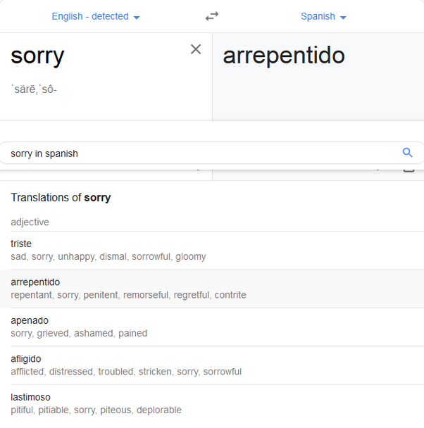 What Is The Best Way To Say Sorry In Spanish Quora So, in this lesson we saw some ways to excuse oneself. say sorry in spanish quora