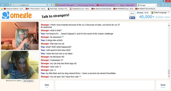 Chat facetime omegle Start Omegle
