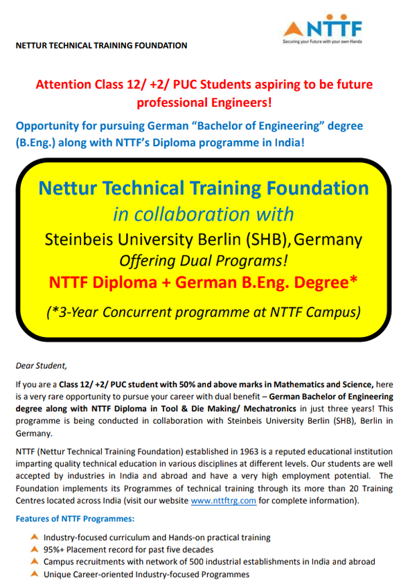 What is preferred after NTTF? - Quora