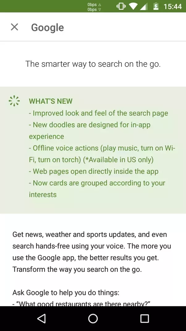 how to find google now on my phone