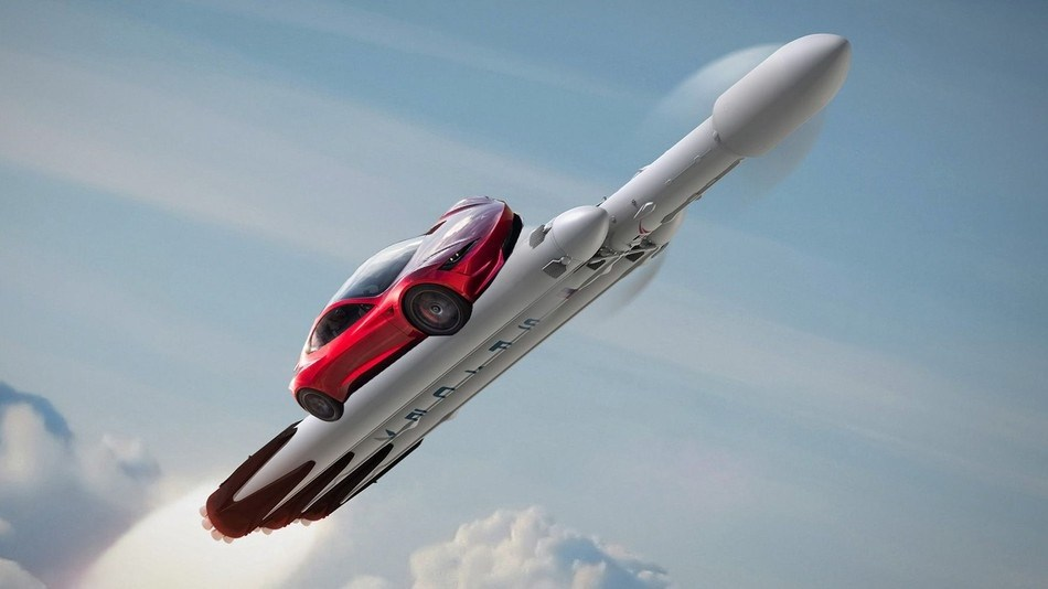 image from Is Elon Musk really going to launch his Tesla Roadster into Mars Orbit?
